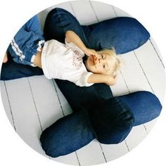 Pouf avion Pakhuis Oost