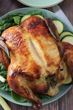 Coconut Lime Chicken, Buttermilk Chicken, Honey Garlic Chicken, Roasted Chicken, Asian Recipes, New Recipes, Dinner Recipes, Beef Curry, Dinner Rolls