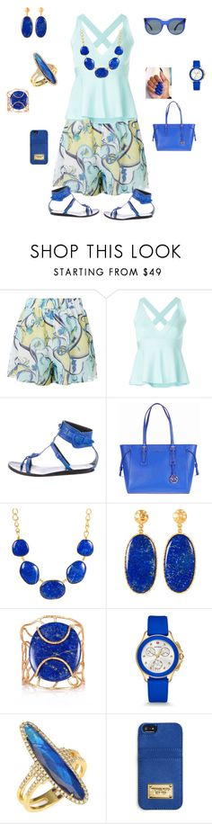 """""""Today's  outfit"""" by bebejohnson ❤ liked on Polyvore featuring Emilio Pucci, Boutique Moschino, Balenciaga, Michael Kors, Christina Greene, Michele, Meira T, MICHAEL Michael Kors and Alexander McQueen"""