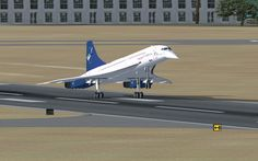Concorde - It even looks like a bird. OK, so this may never happen, but a transatlantic flight on the Concorde. Sud Aviation, Aviation World, Civil Aviation, A380 Aircraft, Passenger Aircraft, Aircraft Pictures, Commercial Plane, Commercial Aircraft, Concorde