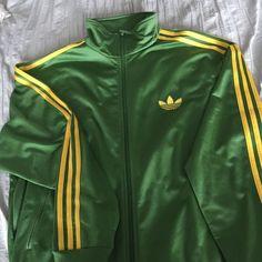 Adidas Jacket Men's XL Adidas Green & Yellow zip up jacket. Adidas Jackets & Coats