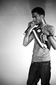 I might be in love with Kid Cudi. especially as Domingo on How to make it in America.