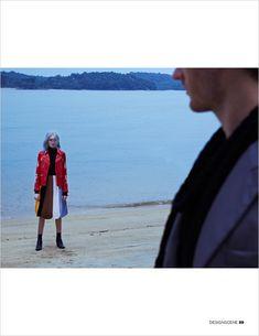 Meet Me In Montauk: Evelin Weber and Josh Knight Lee for Design SCENE Magazine