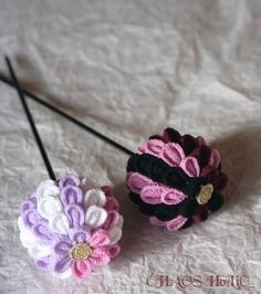 iichi - HandMade in Japan Kusudama in Strawberry Chocolate