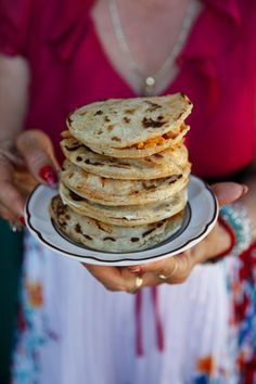 Gorditas....... another fav of my family..... I love to just fill them with cheese and served with sour cream and a homemade salsa:)