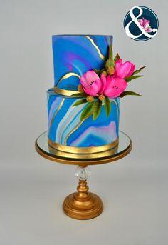 Neon Tulips - Cake by Arte y Sabor