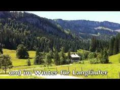 Wander- und Langlauf Gebiet Rohrmoos in Oberstdorf-Tiefenbach im Oberallgäu