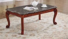 Shop Meridian Furniture Bella Grey Coffee Table with great price, The Classy Home Furniture has the best selection of to choose from Marble Top Coffee Table, Meridian Furniture, Traditional Furniture, Home Furniture, Carving, Grey, Modern, Cherry, Design