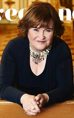 Susan Boyle:  beautiful voice and seems like a genuinely nice woman.