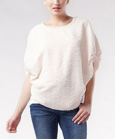 Another great find on #zulily! Buttermilk Tia Maternity Poncho #zulilyfinds
