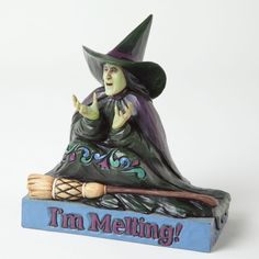 jim shore wizard of oz | 2013 Jim Shore Wizard of Oz, I'm Melting - Wicked Witch Figure