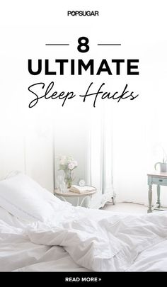 8 Sleep Hacks That Will Put You Right to Bed - If youre groggy throughout the day, it might be because youre not getting good sleep. Quality snooze time is important, as it sets the pace for the rest of the day. To help you get great sleep, weve found som Wellness Tips, Health And Wellness, Health Tips, Sleep Help, Good Night Sleep, Can't Sleep, Relax, Healthy Sleep, Insomnia