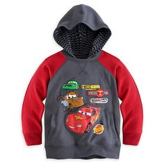 Cars Hoodie Pullover for Boys