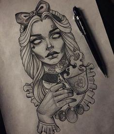 Kunst Tattoos, Body Art Tattoos, New Tattoos, Sleeve Tattoos, Cool Tattoos, Tattoo Sketches, Tattoo Drawings, Drawing Sketches, Drawing Ideas