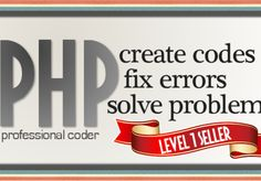 ozererol: code php, fix php errors, create php scripts, solve php problems for $5, on fiverr.com