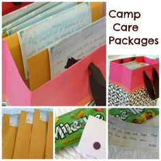 Camp carepackages - Postcards from Seattle -