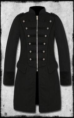 Tripp NYC Marshall military jacket. lovelovelove. someday... lol