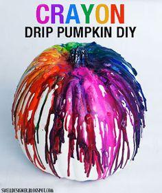 diy home sweet home: 21 Creative Pumpkin Crafts