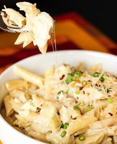 This Artichoke Chicken Pasta is creamy and yummy and so easy to throw together. You will love the tender chicken and flavorful artichokes. Chicken Artichoke Recipes, Chicken Pasta Recipes, Fish Recipes, Recipies, Turkey Recipes, Shrimp Recipes, Yummy Recipes, Family Meals, Family Recipes