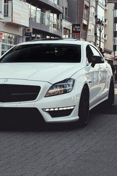 Mercedes-Benz CLS 63 AMG when this gets in my houses garage I will just stare