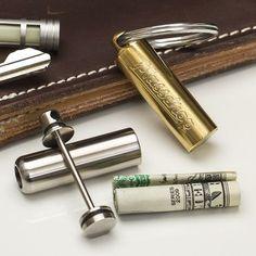 Massdrop Mini Cash Can Edc Gadgets, Cool Gadgets, Edc Everyday Carry, Edc Tools, Cool Gear, Edc Gear, New Model, Survival Gear, Tactical Gear