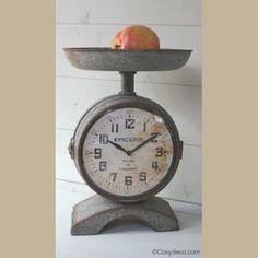 Horloge Balance Style Rétro Déco Cuisine Cosydeco.com