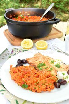 Recept na vegetariánský balkánský džuveč a filety ze pstruha s bylinkovým olejem Curry, Health Fitness, Ethnic Recipes, Food, Curries, Eten, Health And Fitness, Fitness, Meals