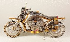 miniature watch motorcycles by dmitry khristenko