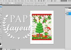 Layout de natal - Photoshop