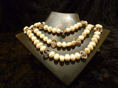 Classic pearls with a little twist