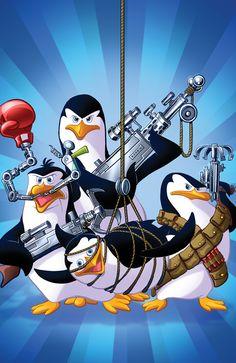 Penguins of Madagascar Dreamworks Movies, Dreamworks Animation, Disney And Dreamworks, Animation Film, Disney Pixar, Cartoon Movies, Pinguin Illustration, Madagascar Movie, Penguin Costume