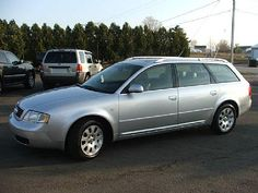 My birthday present to myself this year. 2000 Audi A6 Quattro Wagon. Except mine has a sweet Yakima rack on the roof.