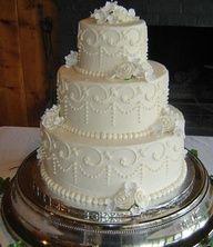 Classic #wedding cake from pastry team at JW Marriott Desert Ridge Resort & Spa.