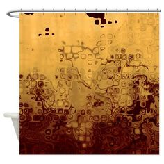 Abstract 79 Shower Curtain on CafePress.com