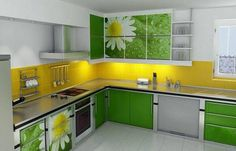 Magnificent Sleek Green Kitchen Design Ideas - Cretíque