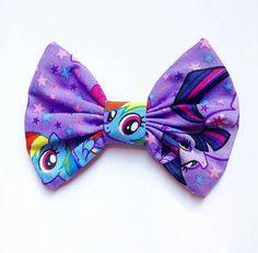 My Little Pony Hair Bow @ https://www.etsy.com/listing/236562768/my-little-pony-bow