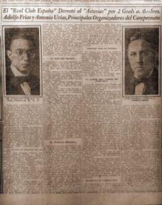 Torneo Centenario 1921 - http://historiafutbolmexicano.com/torneo-centenario-1921/
