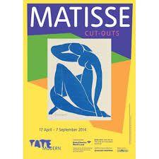 henri matisse cutouts exhibition poster