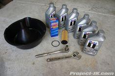 Project-JK.com - Jeep JK Wrangler Resource » 2012 Jeep JK Wrangler 3.6L Pentastar Engine Oil Change Write-Up