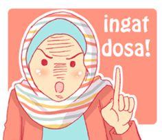 keseharian dua hijabers bersaudara