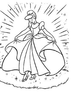 princess coloring pages - Printing Colouring Pages