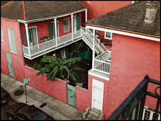 My Life in the Quarter: Patio from Above, June 15, 2002   New Orleans Sites and Sights