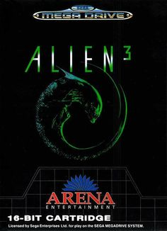 Play Alien 3 on Sega Genesis (Mega Drive) Online in your Browser ✅ Enter and Start Playing FREE. Video Game Tattoos, Tattoo Videos, Mega Drive Games, Sega Mega Drive, Classic Video Games, Retro Video Games, Retro Games, Comic Book Tattoo, Sega Genesis Games