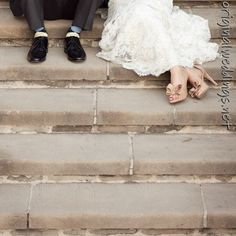 Wedding feet pictures (came across this on http://originalweddings.net )