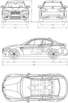 BMW M2 blueprint Bmw M2, Bmw 335xi, Cartoon Car Drawing, Car Drawings, Bmw Design, Car Design Sketch, Bmw Sketch, Bmw Website, Car Brands Logos
