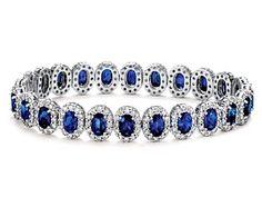 something blue... Sapphire Bracelet, Sapphire Jewelry, Sapphire Earrings, Diamond Bracelets, Gemstone Bracelets, Diamond Jewelry, Gemstone Jewelry, Gold Bangles, Jewelry Bracelets