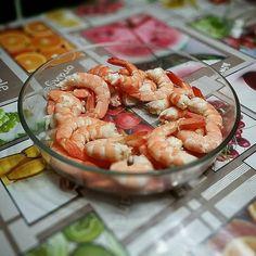Creveeeettes! #foodporn #crevettes #christmas