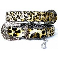 Lush Leopard Leather Dog Collar By Puchi