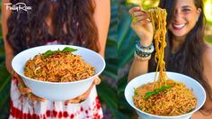 Creamy Chipotle Zucchini Pasta Marinara! FullyRaw & Vegan! For those love pasta with marinara, this is an awesome spin on a classic recipe that will have you...
