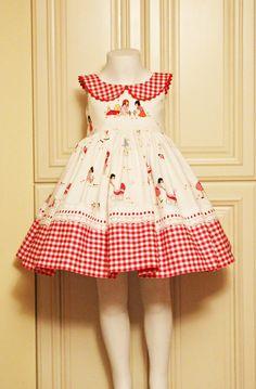 New sewing patterns toddler girl fabrics Ideas Frock Patterns, Baby Girl Dress Patterns, Baby Clothes Patterns, Little Dresses, Little Girl Dresses, Sewing Patterns, Girls Dresses, Toddler Dress, Baby Dress